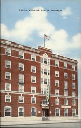 Y.W.C.A. Building in Denver Postcard