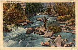 Maine Fishing Stream