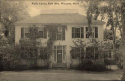 Public Library, Built in 1805