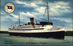 S. S. Queen of Nassau Postcard