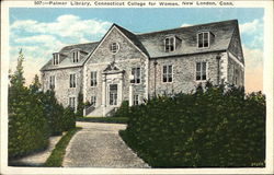 Palmer Library, Connecticut College for Women