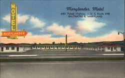 Marylander Motel - 6401 Pulaski Highway - US Route #40