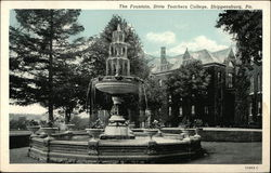 The Fountain at State Teachers College