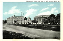 Kentucky and Talcott Halls from the Dixie Highway