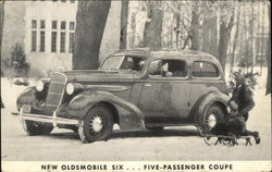 New Oldsmobile Six ... Five-Passenger Coupe