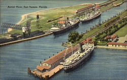 Aerial View of Port Tampa