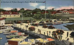 Prince George's Dock Postcard