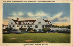 Club House, Drumlins Country Club Postcard