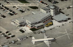Stapleton Municipal Airport Postcard