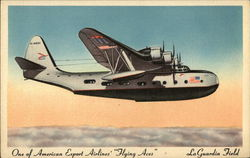 "One of American Export Airlines' ""Flying Aces"", La Guardia Field"