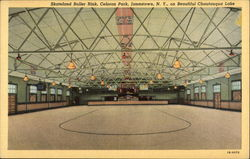 Skateland Roller Rink, Celoron Park on Beautiful Chautauqua Lake