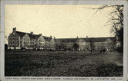 Cary Hall, North and East, Men's Dorm at Purdue University