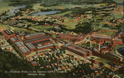 Aerial View of Pittsfield Works of the General Electric Company