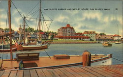 Oak Bluffs Harbor and Wesley House