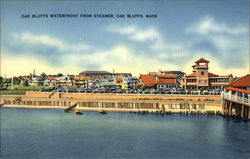 Oak Bluffs Waterfront from Steamer