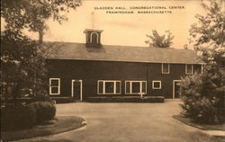 Gladden Hall, Congregational Center