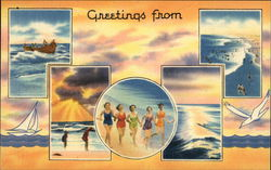 Greetings From... Postcard