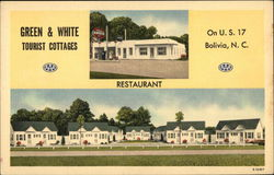 Green & White Tourist Cottages on US 17