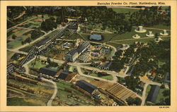 Aerial View of Hercules Powder Company Plant