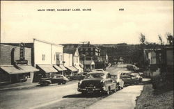 Main Street View, Rangeley Lakes