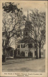 First Church of Martha's Vineyard - Founded 1642