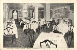 Colonial Dining Room at Hotel Continental