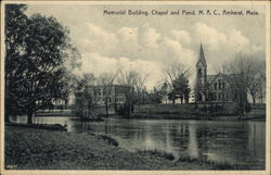 Memorial Building, Chapel and Pond, MAC