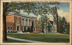 Memorial Building and Chapel, Massachusetts State College