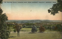 The Pelham Hills, looking East from Amherst College
