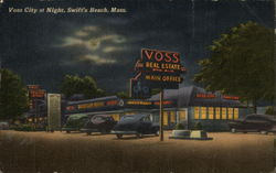 Voss City at Night, Swift's Beach
