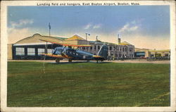 Landing Field and Hangers, East Boston Airport