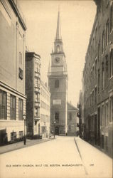 Old North Church - Buils 1723