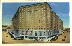 Street View of the Hotel Statler
