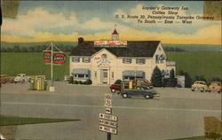 Snyder's Gateway Inn Amoco Gas Postcard