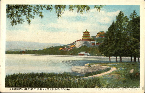A General View of The Summer Place Peking China