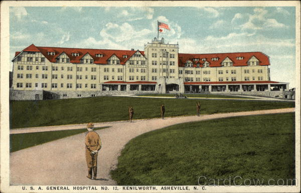 U.S.A. General Hospital No.12, Kenilworth Asheville North Carolina