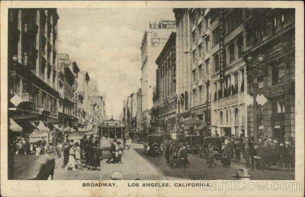 Broadway Los Angeles California