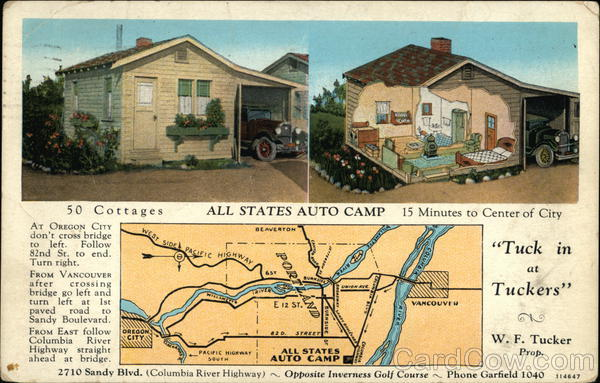 All States Auto Camp Portland Oregon