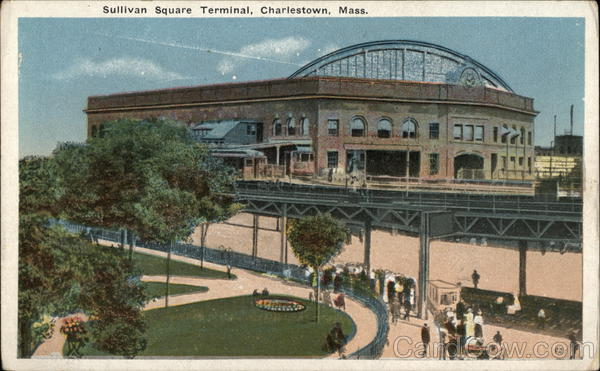 Sullivan Square Terminal Charlestown Massachusetts