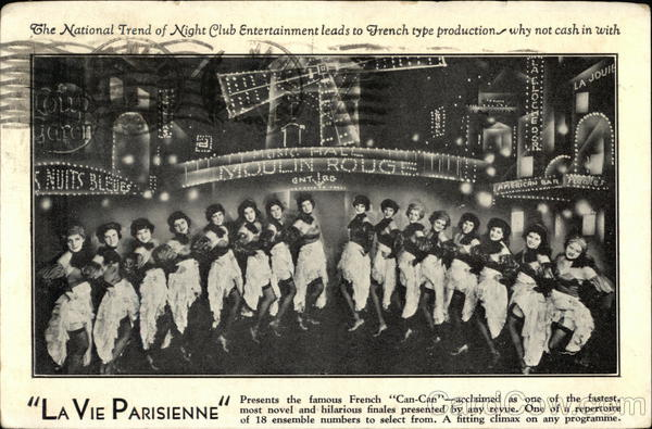La Vie Parisienne Advertising