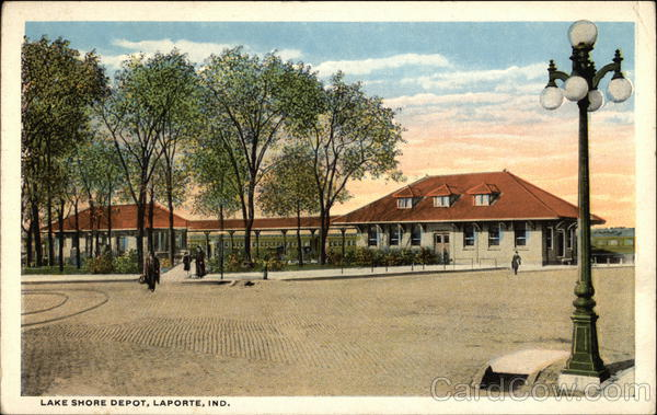 Lake Shore Depot LaPorte Indiana