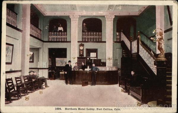 Northern Hotel Lobby Fort Collins Colorado