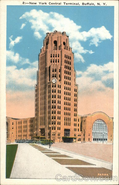 New York Central Terminal Buffalo