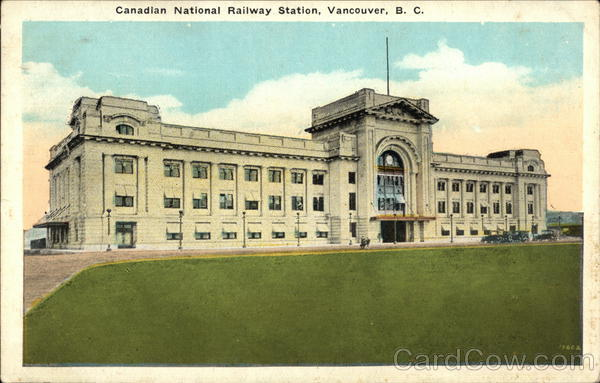 Canadian National Railway Station Vancouver Canada