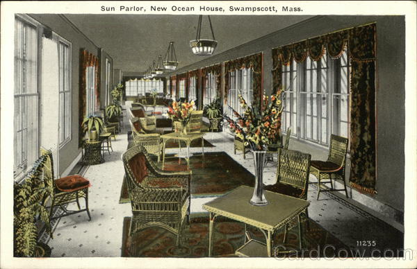 Sun Parlor, New Ocean House Swampscott Massachusetts