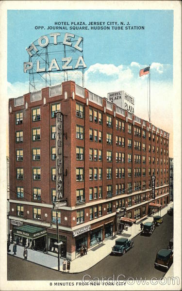 Hotel Plaza Jersey City New Jersey