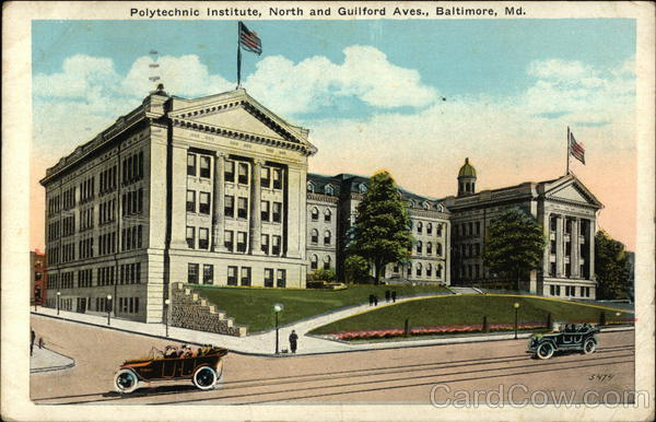 Polytechnic Institute, North and Guilford Avenues Baltimore Maryland