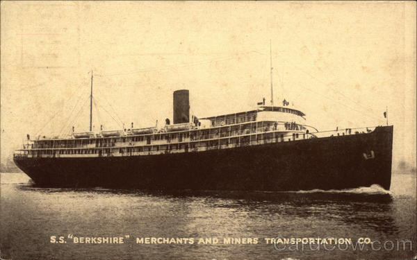 S.S. Berkshire - Merchants and Miners Transportation Co.