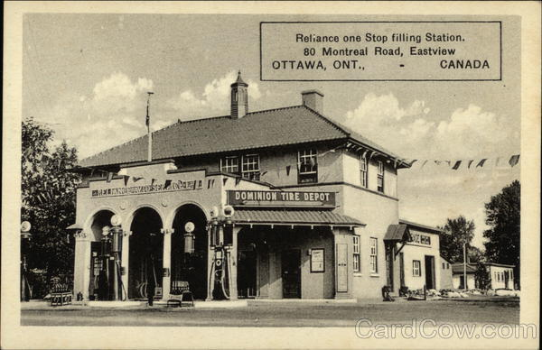 Reliance One Stop Filling Station, Eastview Ottawa Canada