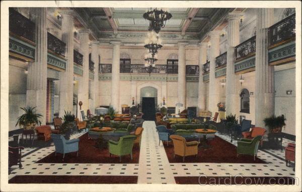 The Mayo Hotel - Spacious Lobby Tulsa Oklahoma